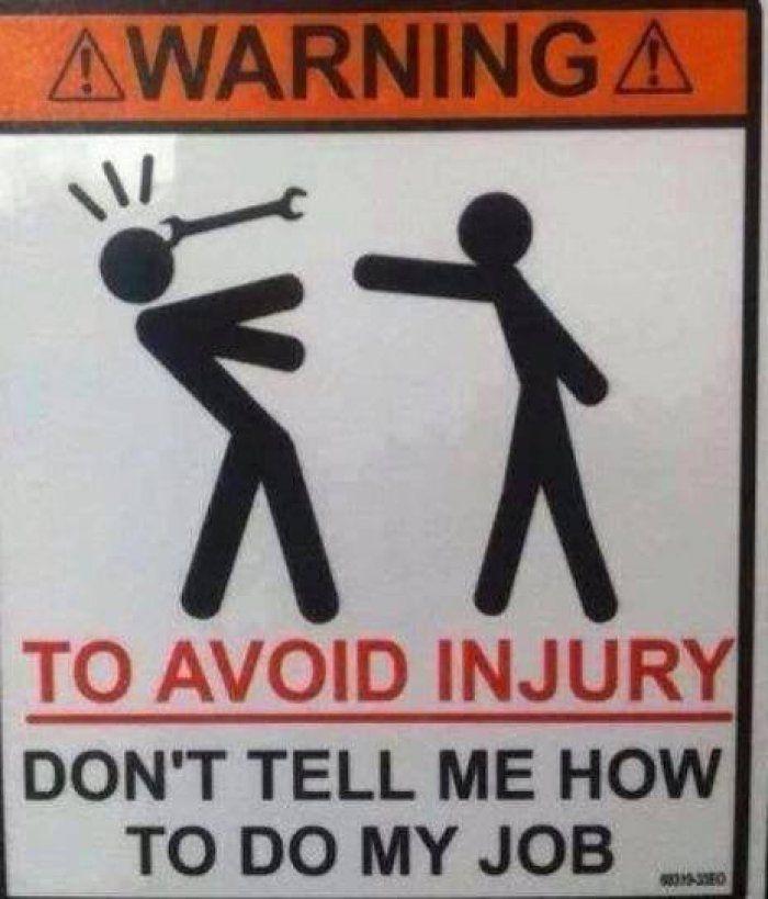 funny warning sign httpwwwjokideocom warning