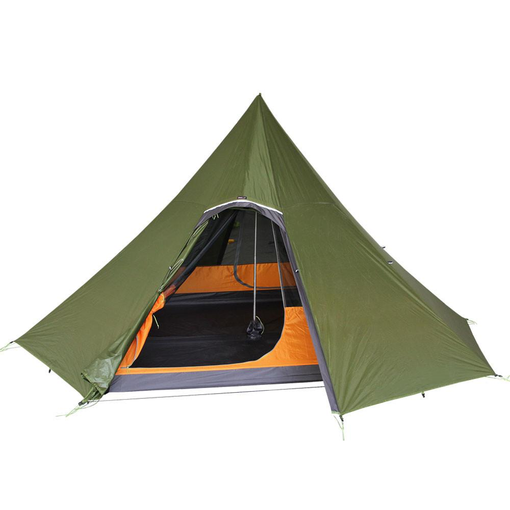 Octopeak Tipi (6P) with Hot Tent