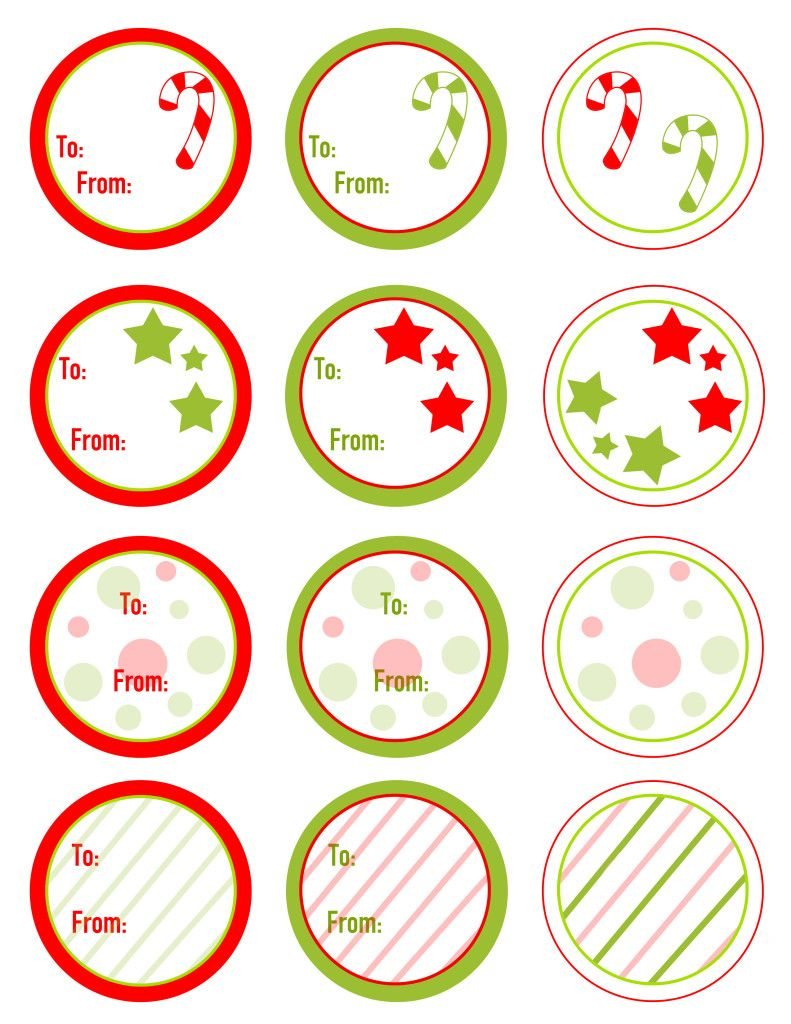 Free Christmas Gift Tags Printable | Manualidades niño | Pinterest
