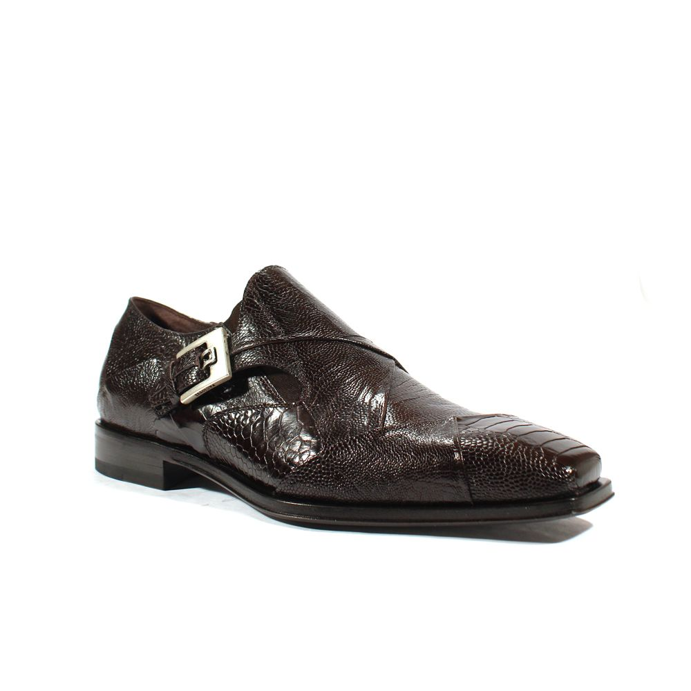 a7863c6e560 Cesare Paciotti Mens Shoes Struzzo Zamp Fondente Lizard Claws Loafers  (CPM2592)