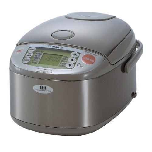 Zojirushi NP-HBC10 Induction Heating System Rice Cooker and Warmer by Zojirushi, http://www.amazon.ca/dp/B000MAKVLQ/ref=cm_sw_r_pi_dp_-E-Mrb1XQ33SP