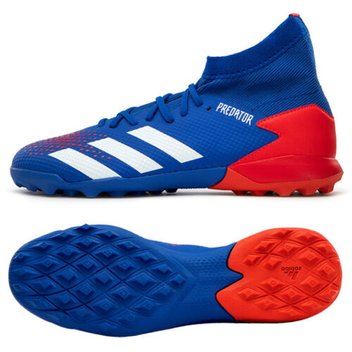 polvo regla etiqueta  Adidas Predator 20.3 TF Turf Football Shoes Soccer Cleats Blue/Red EG0963 |  Football shoes, Youth soccer cleats, Soccer cleats