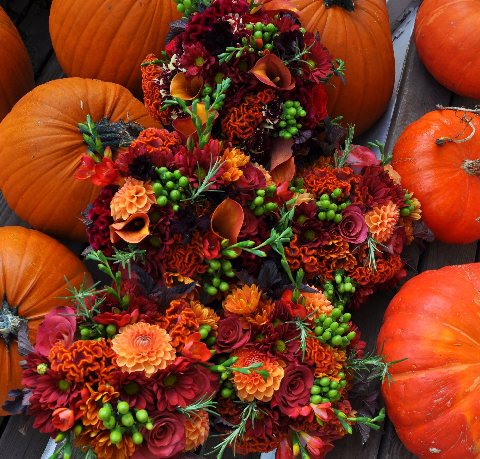 Bridal Bouquets For Fall Wedding