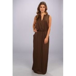 e5f4377ea148b BCBGMAXAZRIA - Alexis Sleeveless Maxi Dress (Fatigue) - Apparel - product -  Product Review