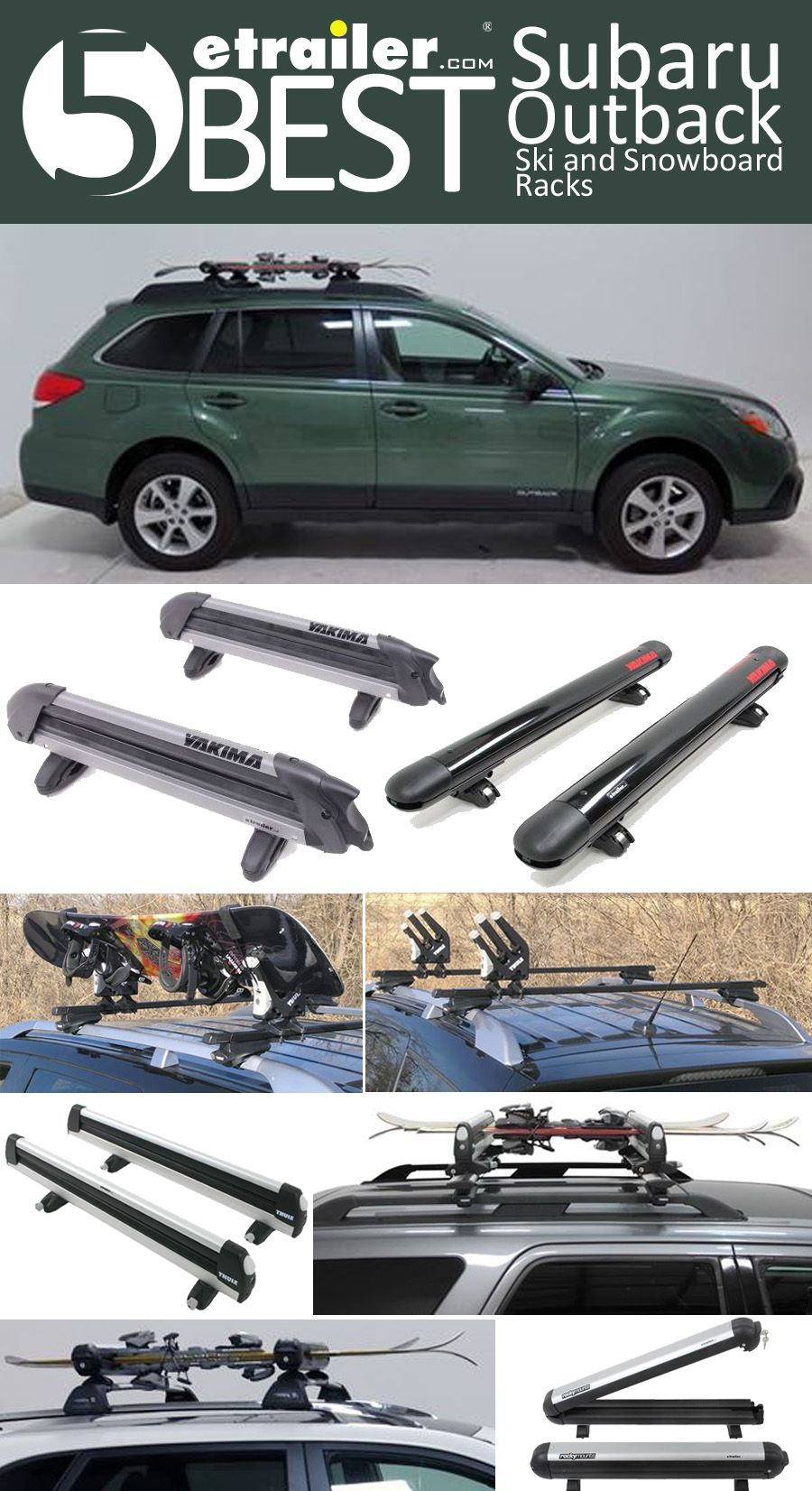 Check out the top 20 rated subaru outback wagon cargo carriers here are the 5 best subaru wagon ski and snowboard racks hit the slopes with vanachro Images