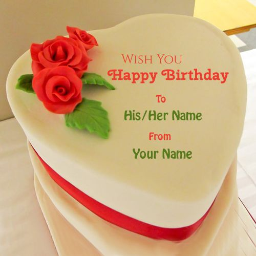 Write Name On Birthday Cake And Wishes FreeWrite Any Happy Cakes Decoration PicsBest With Online