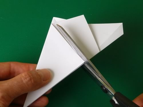 Step 1 How To Make A Pentagon Folding 5 Pointed Origami Star