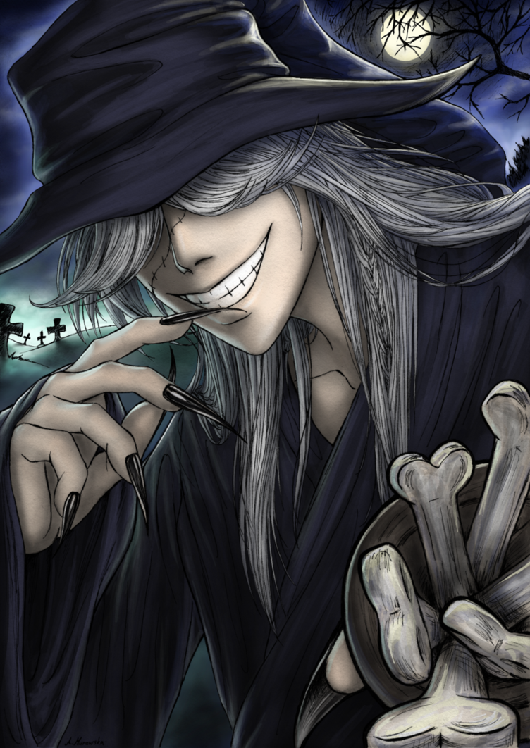 Undertaker Black Butler Wanna Try Some By Van Syl Production On DeviantART