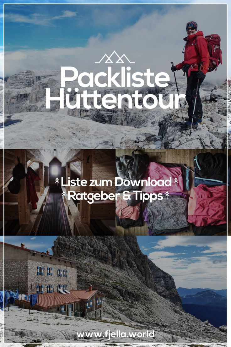 Photo of Packing list hut tour & crossing the Alps | Guide + download