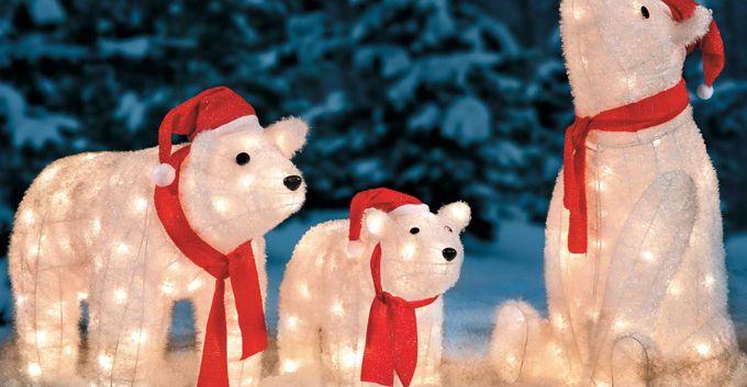Winter Wonderland Outdoor Christmas Decoration Ideas Winter