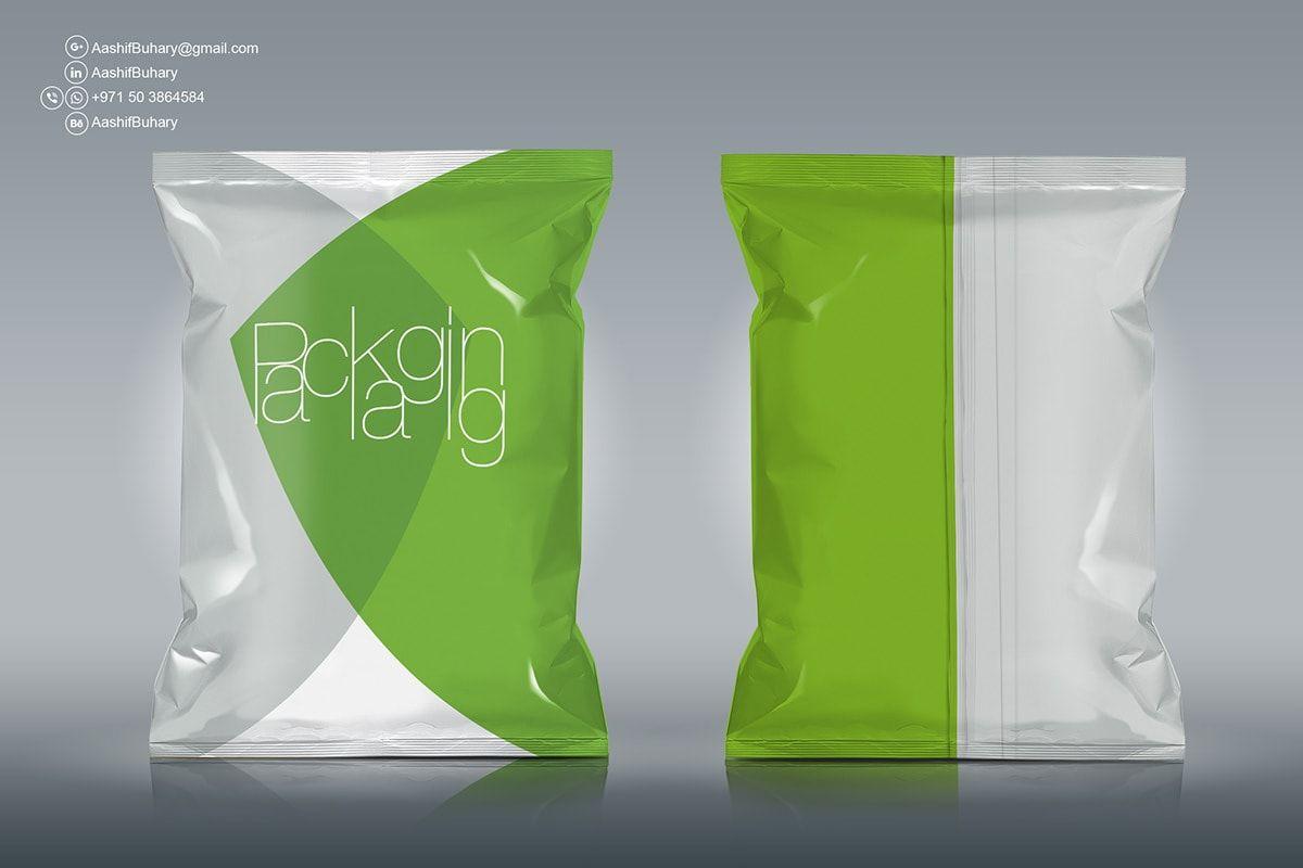 Download Free Chips Foil Bag Packaging Mockup Packaging Mockup Mockup Free Psd Free Mockup