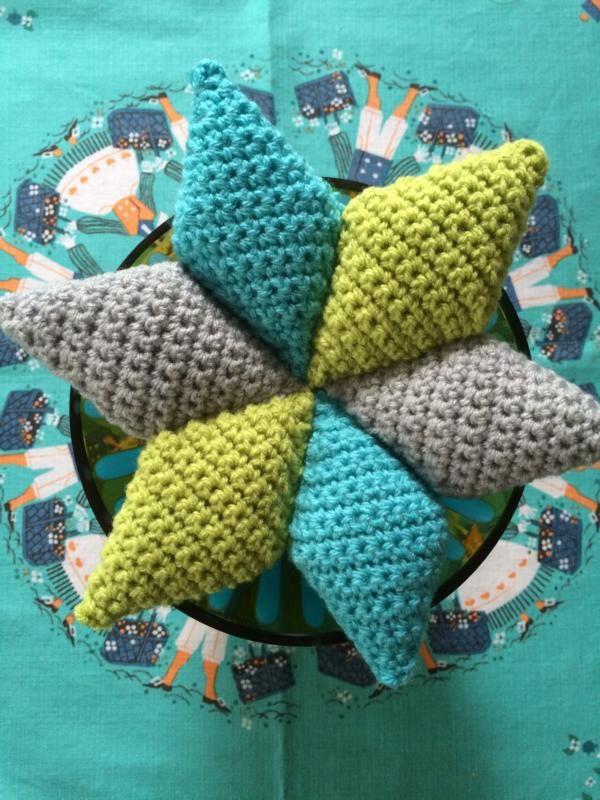Stern Häkeln Nadelkissen Crochet Amigurumi Patterns Und Christmas