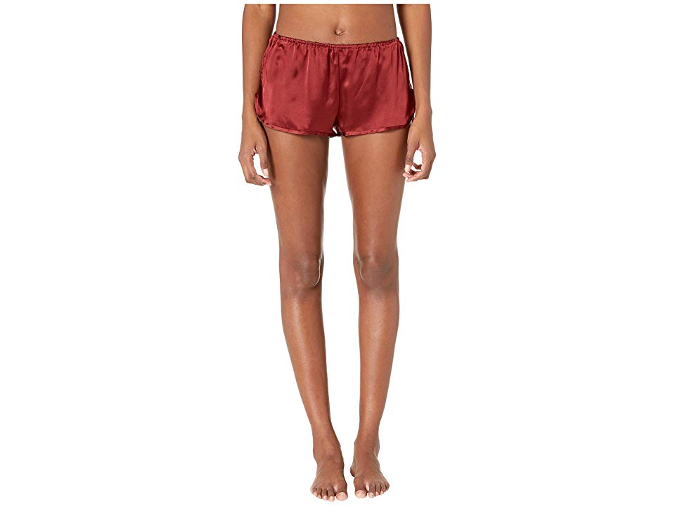 Maison Du Soir Lola Shorts Brick Red Womens Shorts Feel divine comfort in this Maison Du Soir Lola Shorts Relaxed fit with floral print throughout Mid rise Elastic waist...