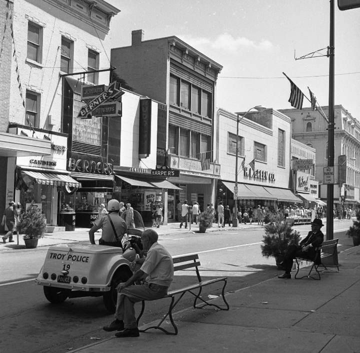 Downtown Third Street, Troy NY (Pasquale Casale)   Troy,NY