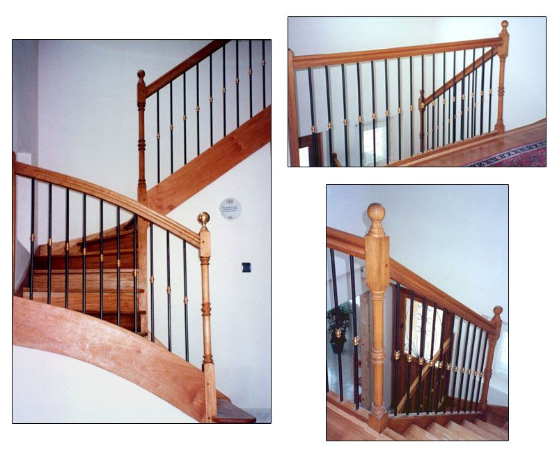 rampe escalier bois metal recherche google cuisine. Black Bedroom Furniture Sets. Home Design Ideas