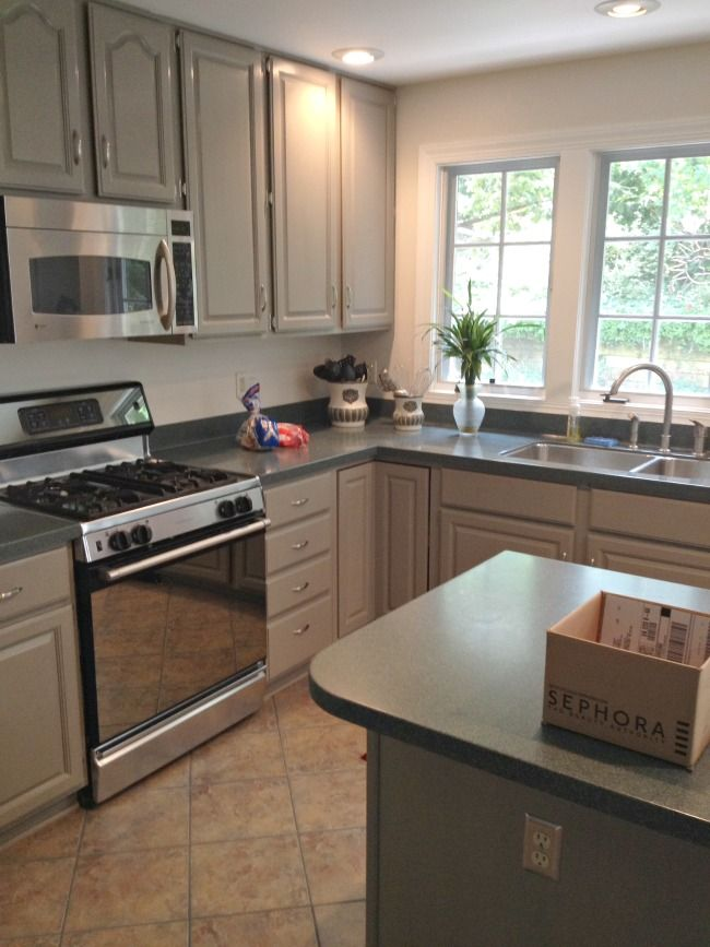 Lucketts Cabinets After Painting Kitchen Cupboards Amy Howard Paint Swatches