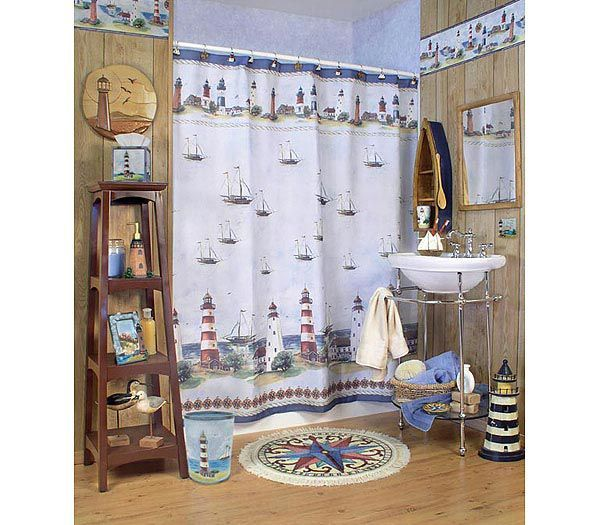 Looking For Lighthouse Bathroom Accessories To Decorate Your Lighthouse Themed  Bathroom? Turning An Ordinary Bathroom Using Lighthouse Bathroom Accessories  ...