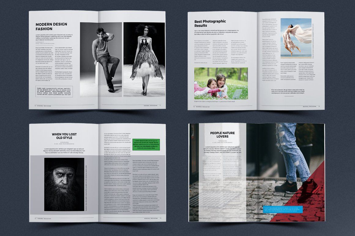 Magazine Magazine Template Business Icons Design Magazine