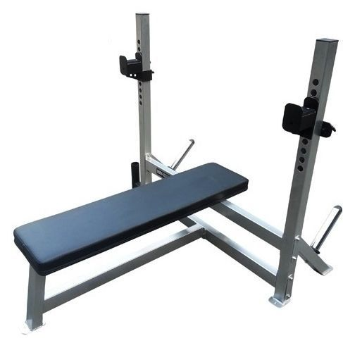 Body Iron Commercial Flat Bench Press Bp200 Gym Fitness Bench