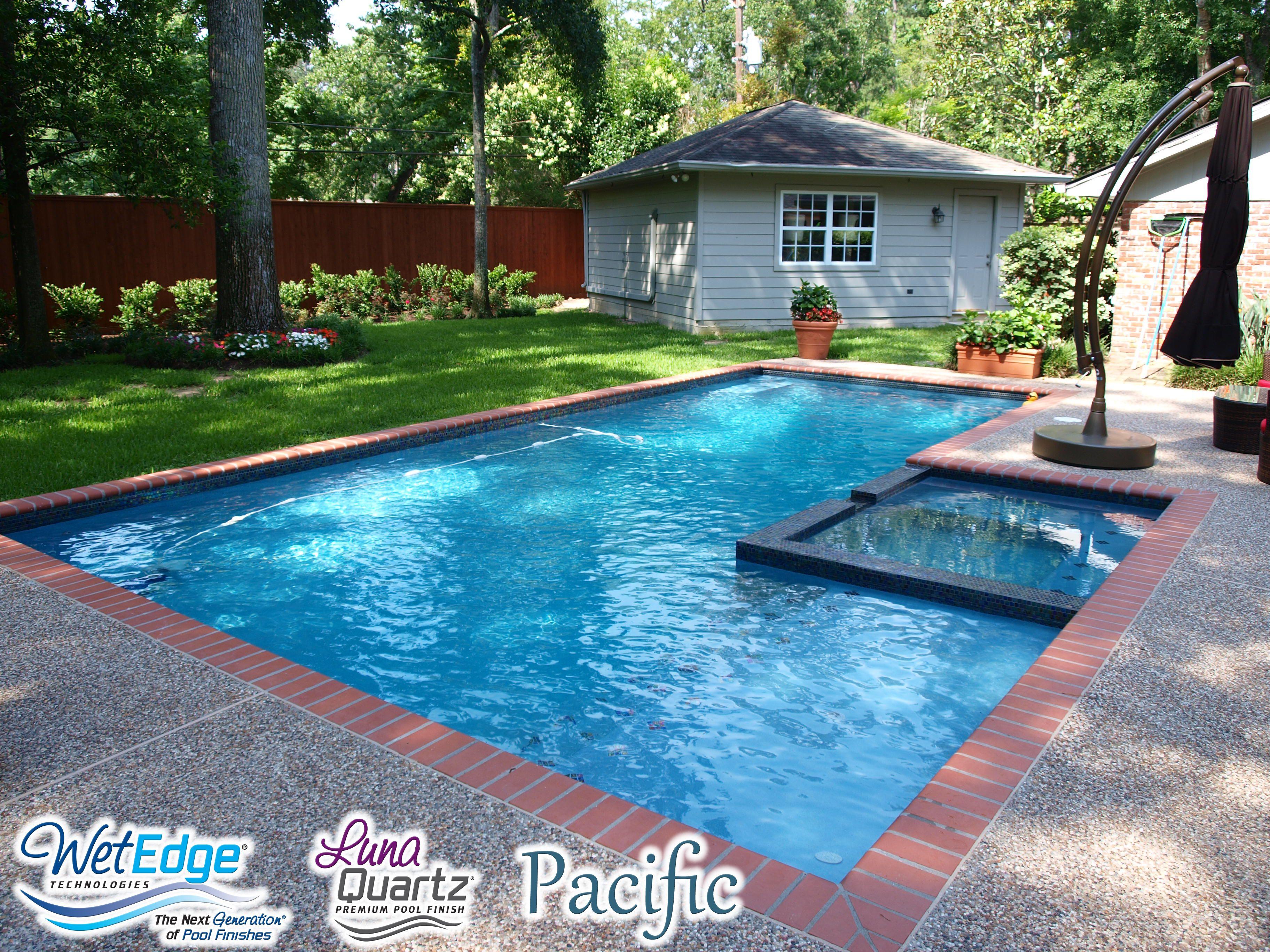 Luna Quartz Pacific Pool Colors Pool Picture Backyard