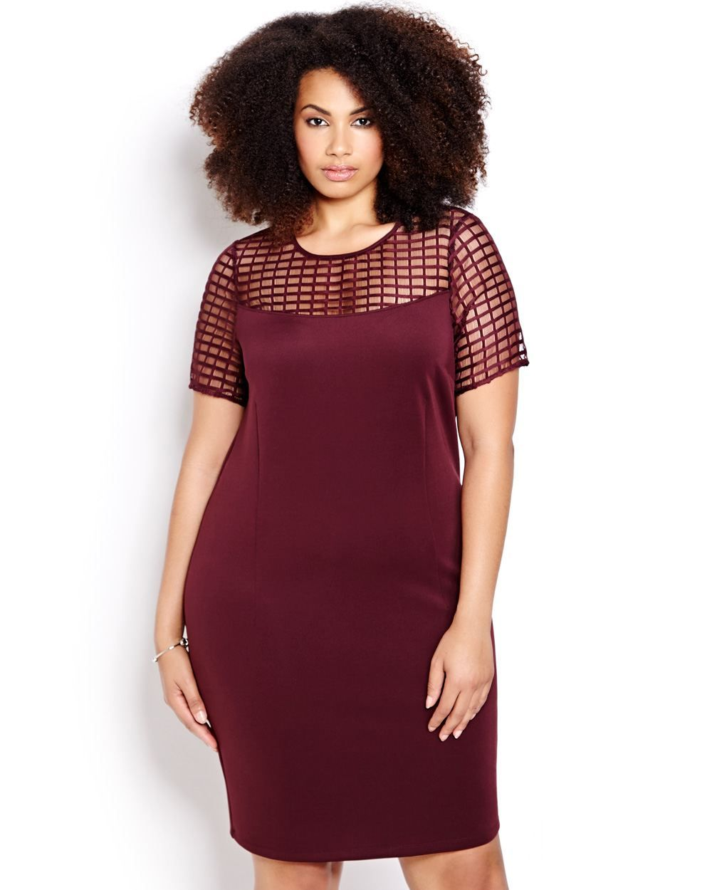 7fe35d1bbe8 Who s ready for one of fall s hottest colors  Here are some of my favorite  Marsala plus size pieces for the season.