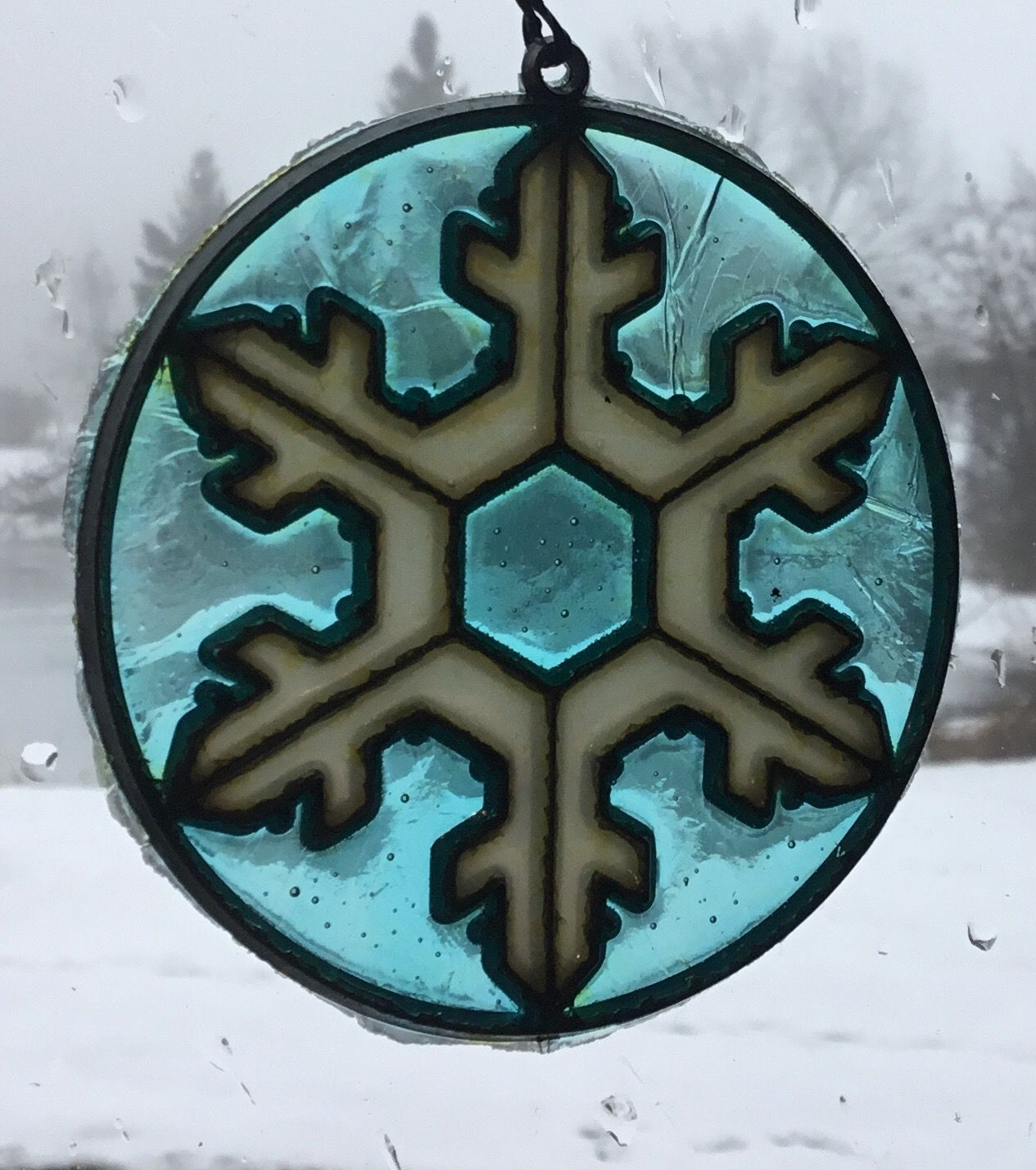 Makit Bakit Snowflake Ornament. Make it and Bake it. (With ...