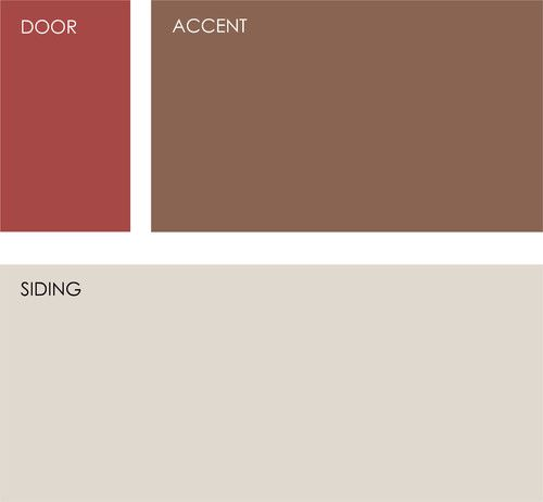 Rich reds draw the eye and send an inviting message. See if one of these palettes speaks to you for your own front door