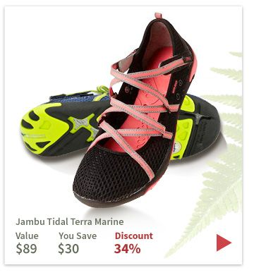 Jambu on sale today! www.planetshoes.com/jambu