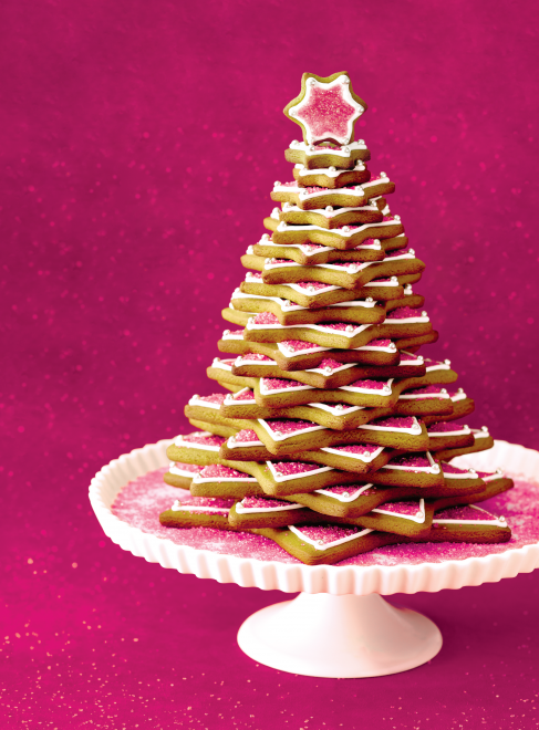 gingerbread cookie tree- Jen I hope you decide to make this  because it looks delicious!! #indigo #magicalholiday