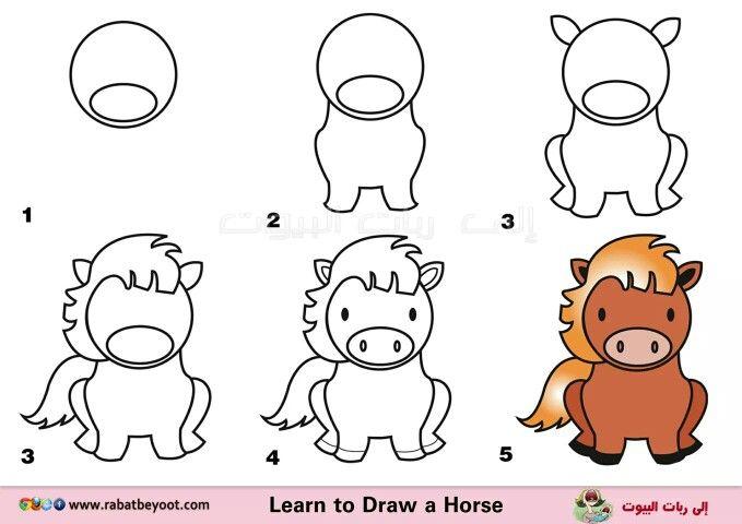 Caballo Dibujos Faciles Para Ninos Dibujos Para Ninos Dibujos