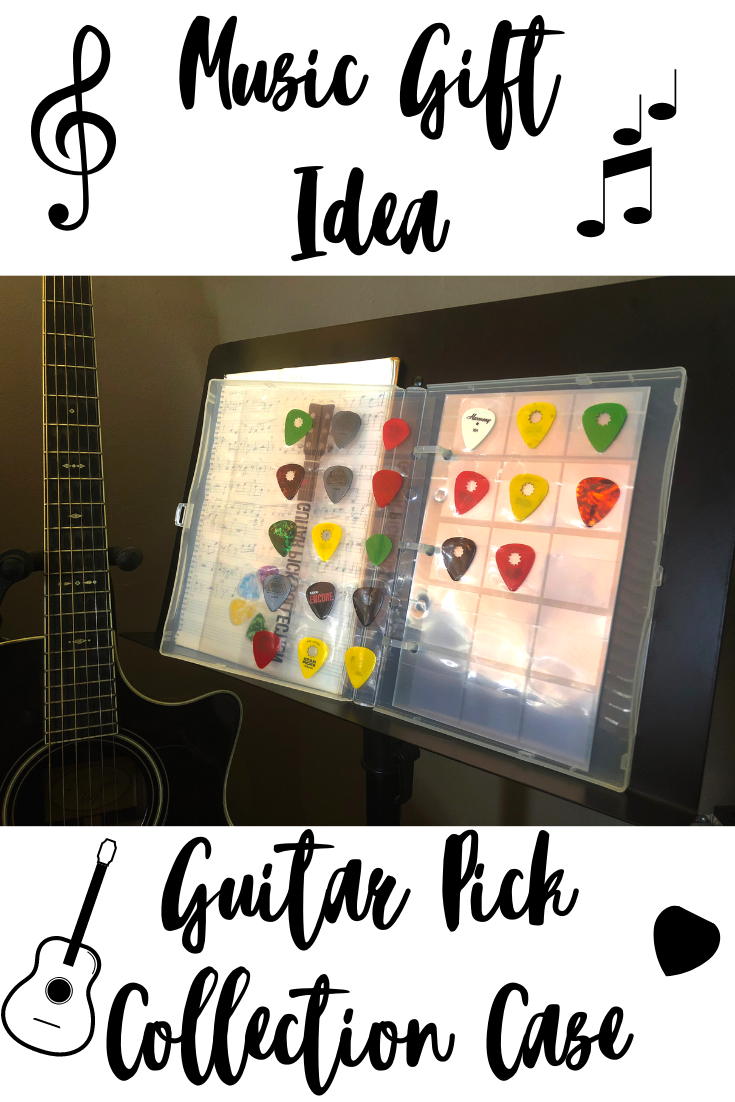 Music Gift Ideas Gifts For Boyfriend Gifts For Musicians Gifts For Guitar Players Unique Guitar Picks Mini Binder Music Gifts