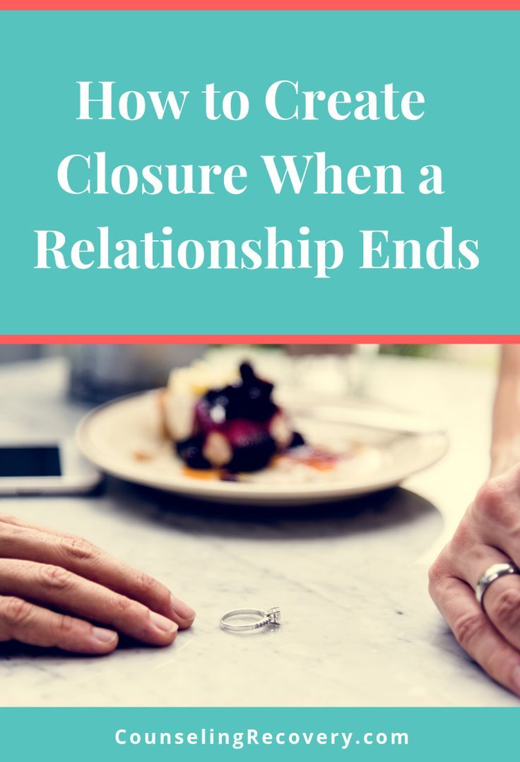 How to Create Closure When Something Ends Divorce