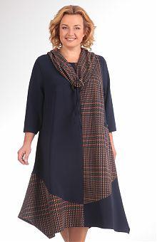 Платья для полных женщин: купить женские платья больших ...
