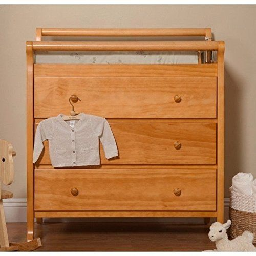 Davinci Emily 3 Drawer Changer Dresser Honey Oak Changing Table