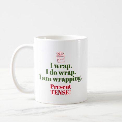Coffee Christmas Puns.Funny Christmas Pun Grammar Humor Coffee Mug Zazzle Com