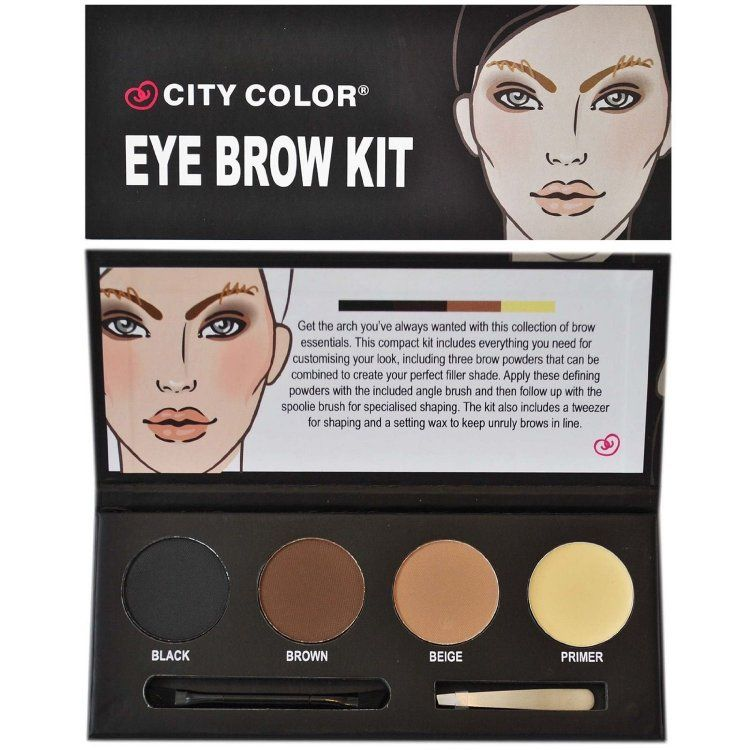 City Color Eye Brow Kit This Compact Kit Includes Everything You