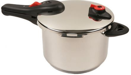 Buy this NuWave 6.5-Quart Stainless Steel Presssue Cooker with deep discounted price online today.