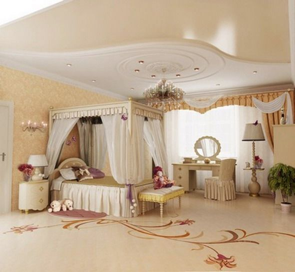 luxury kids bedroom design ideas with classic style