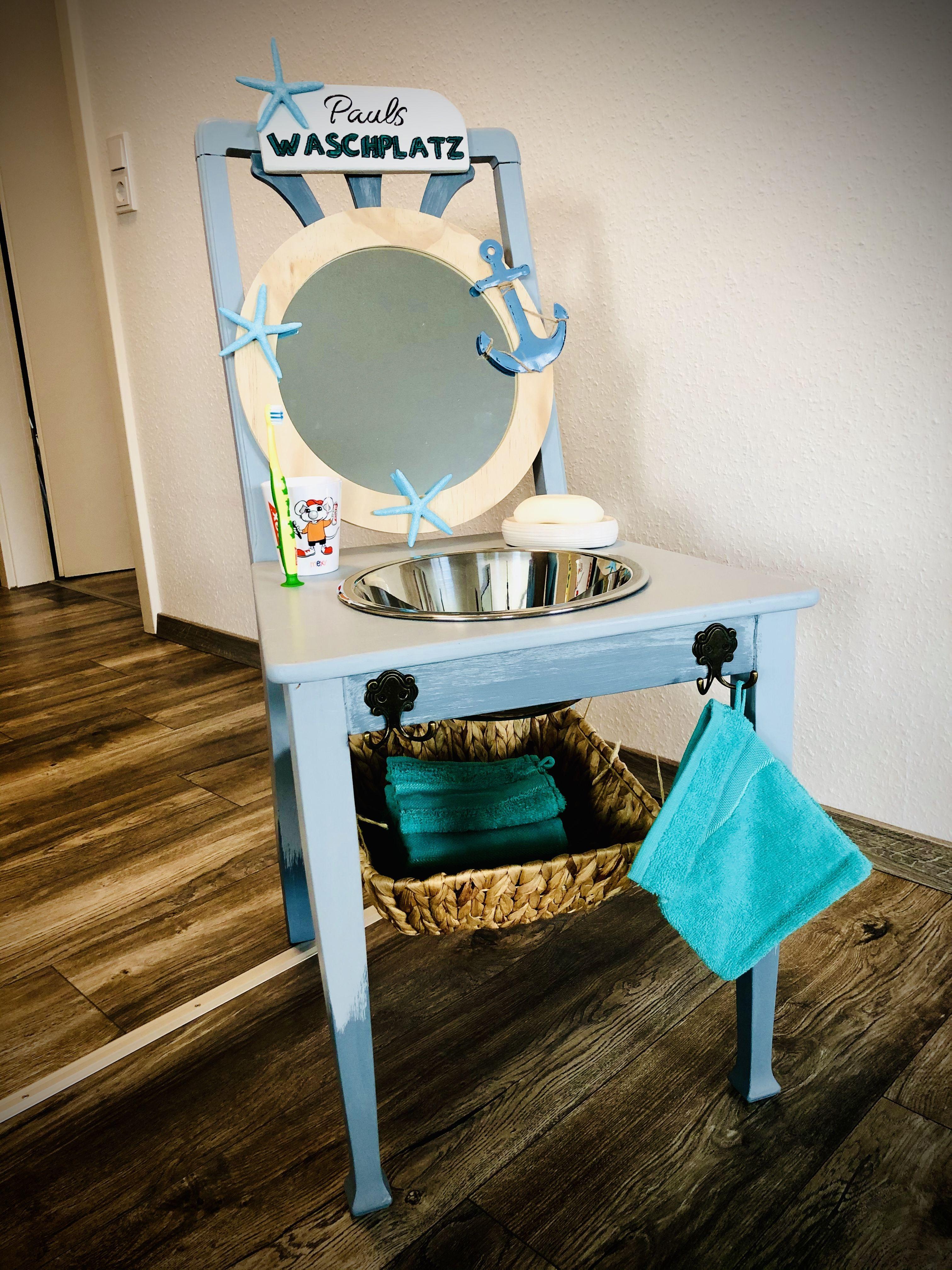 Kinder Waschtisch Waschtisch Kinderbad Alte Stuhle