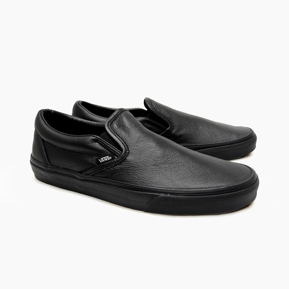 Men's Leather Slip On Loafers Sneakers