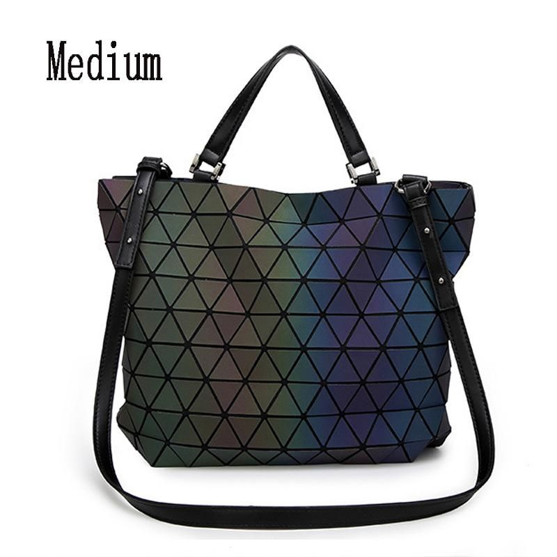 5f32289e091 Baobao Rainbow Geometry Japanese-style 3D Gradient Tote Handbag Shoulder  Messenger Bag   Coats   Purses   Pinterest   Bags, Shoulder Bag and Casual  bags