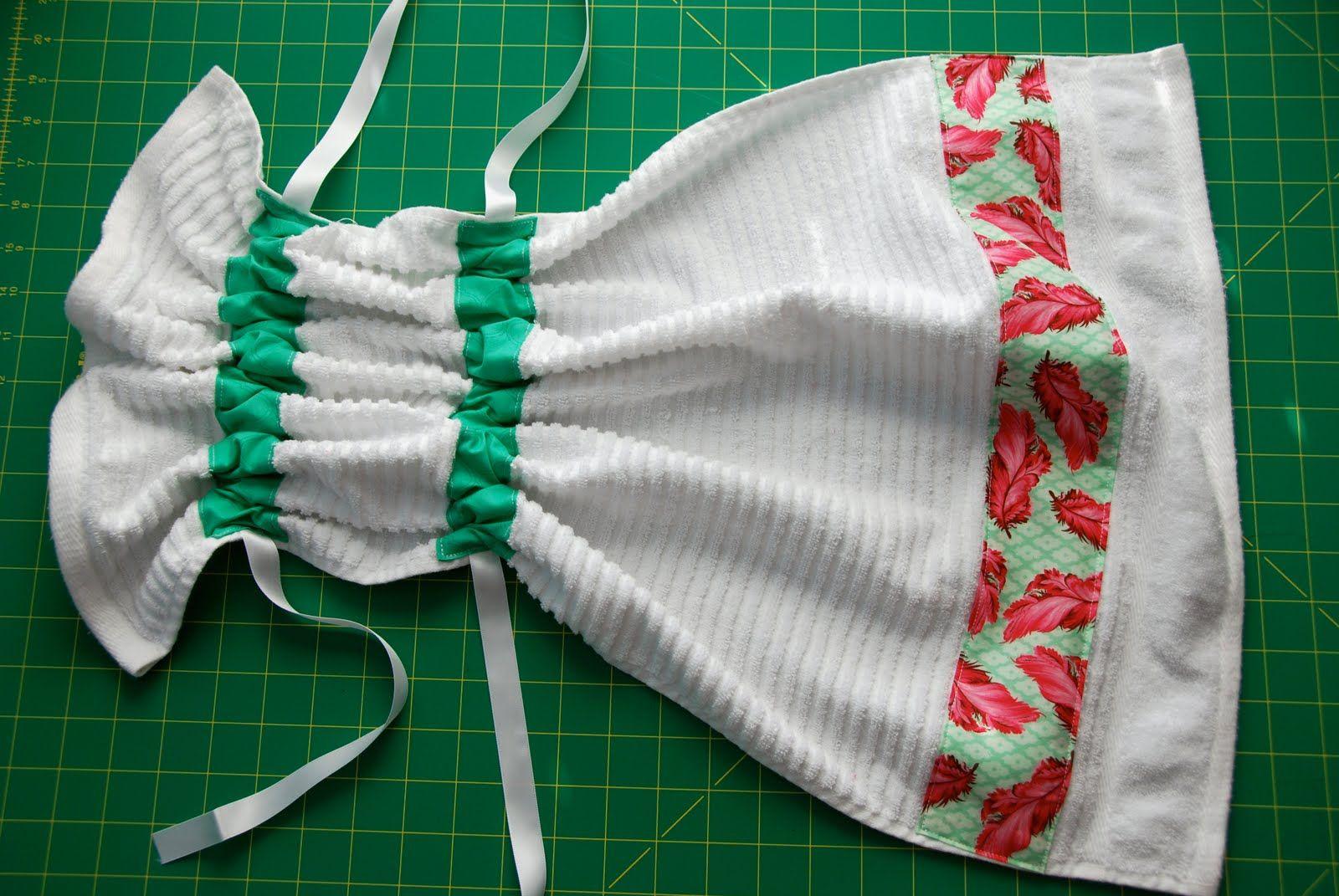 Pin Sew Press Tutorial Stay Put Kitchen Towel Or Just Sew