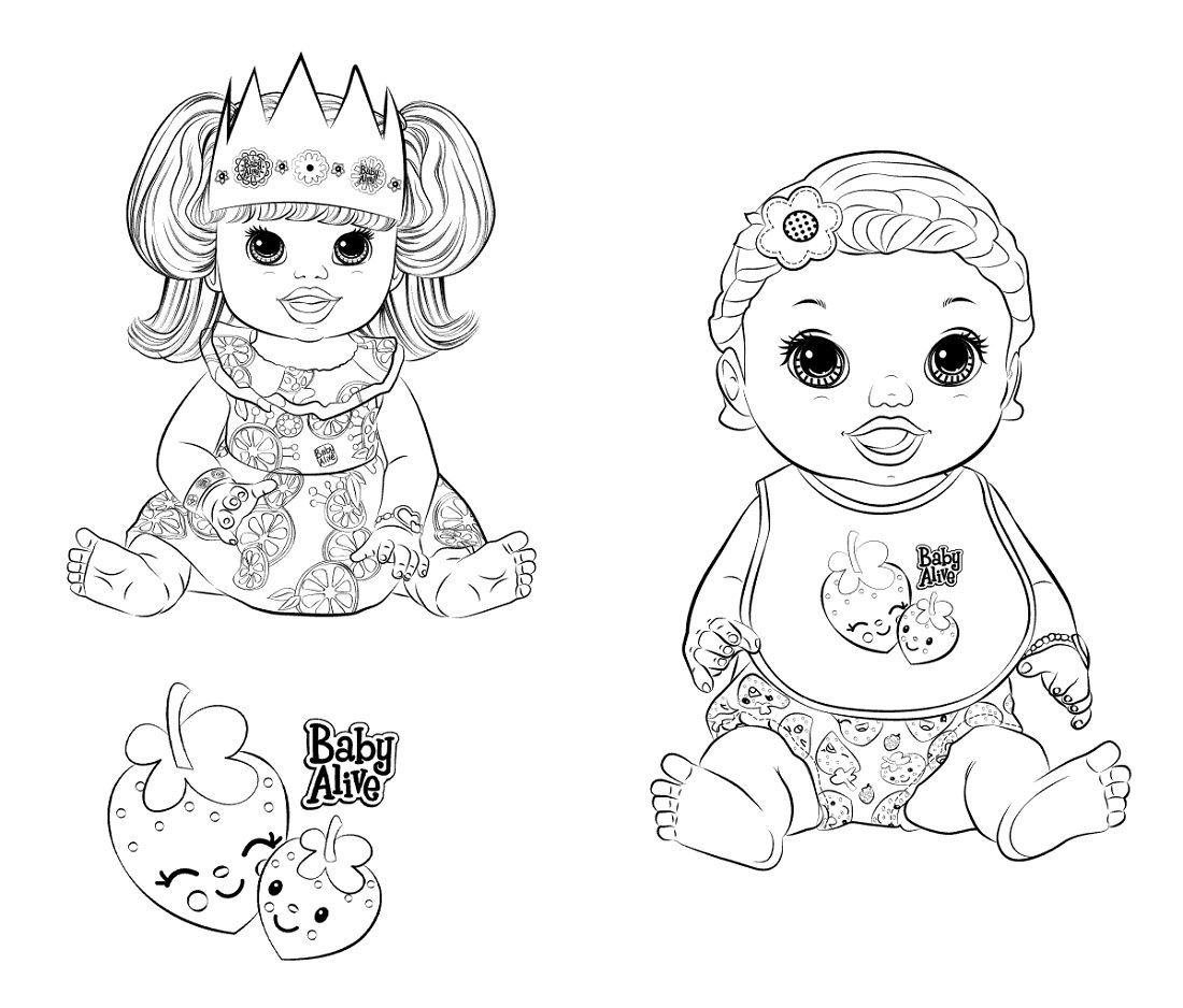 Baby Alive Coloring Pages Printable K5 Worksheets Baby Alive Superhero Coloring Coloring Pages