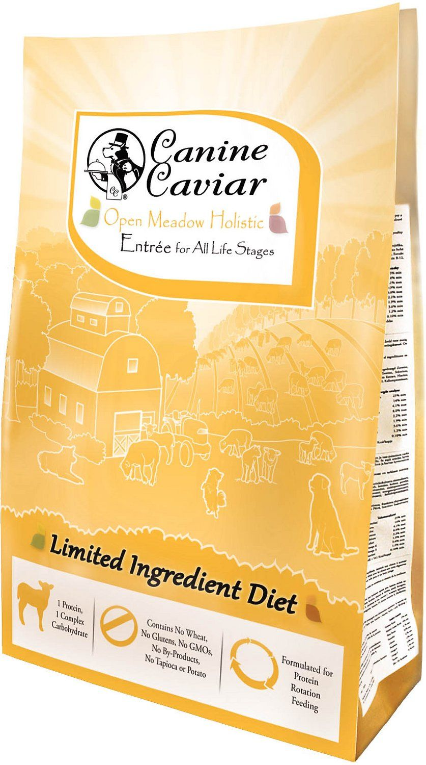Canine Caviar Limited Ingredient Diet Open Meadow Holistic