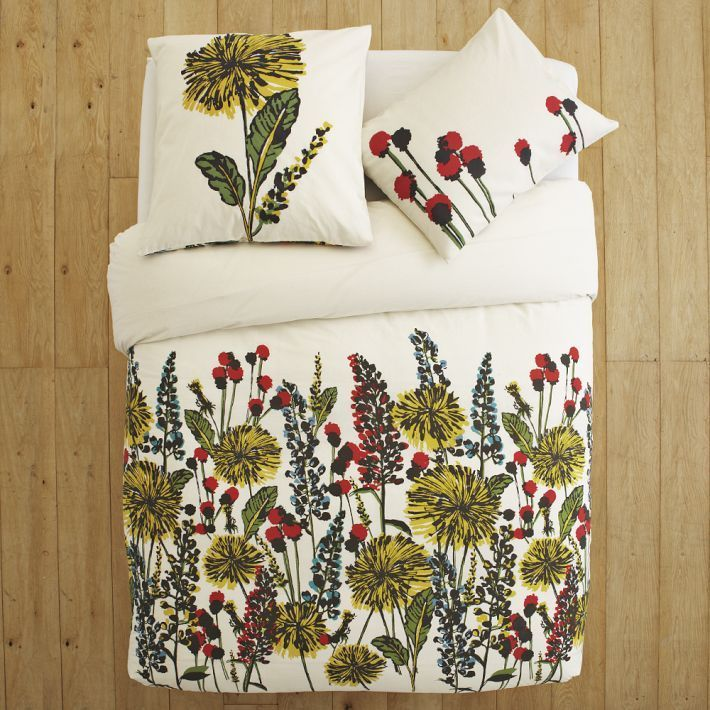 Urban Garden Duvet and Shams
