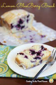 Lemon Blueberry Bread | Cooking on the Front Burner