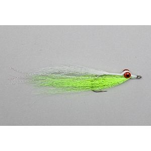 Rod and Reel - Fresh & Saltwater Fly Fishing Specialists - New Zealand : Flies  Salt Water  Clouser's Deep Minnow Chart/White 2 and 6 - Cl...