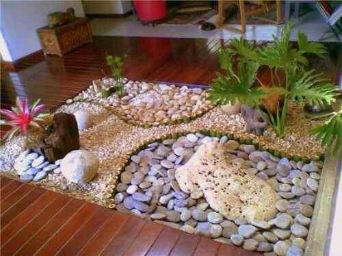 Jardin Interior Bello Jardines Piedras Decorativas Para Jardin Diseno De Jardin