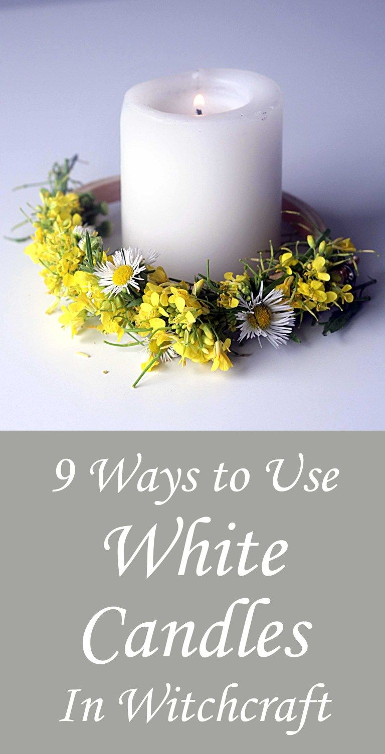 How to Use White Candles in Witchcraft 9 Ways #whitecandleswedding