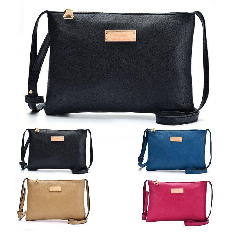 3ab05bcd0d Women Lady PU Leather Handbag Shoulder Bag Tote Messenger Cross Body Bags  Purses  Unbranded  ShoulderBag